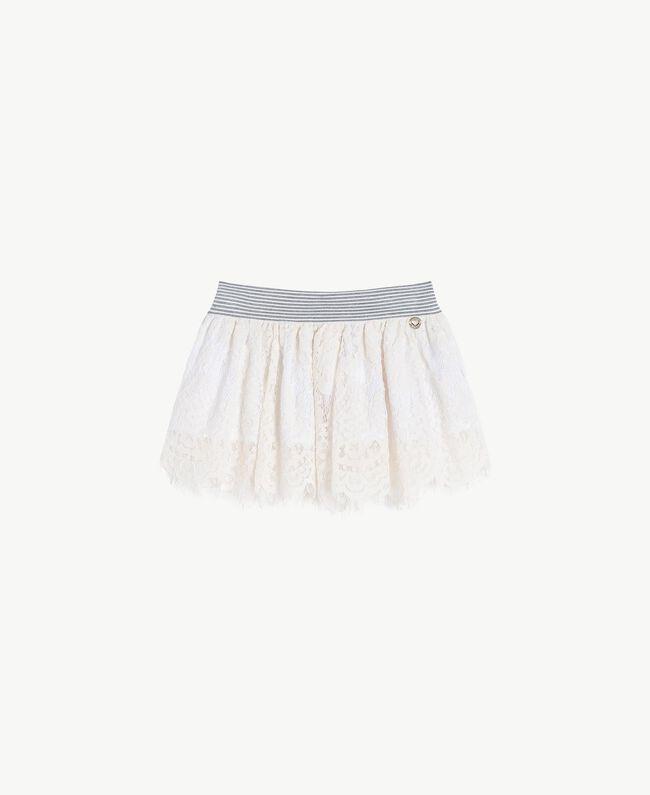 Lace skirt Pale Cream Child FS82UN-01