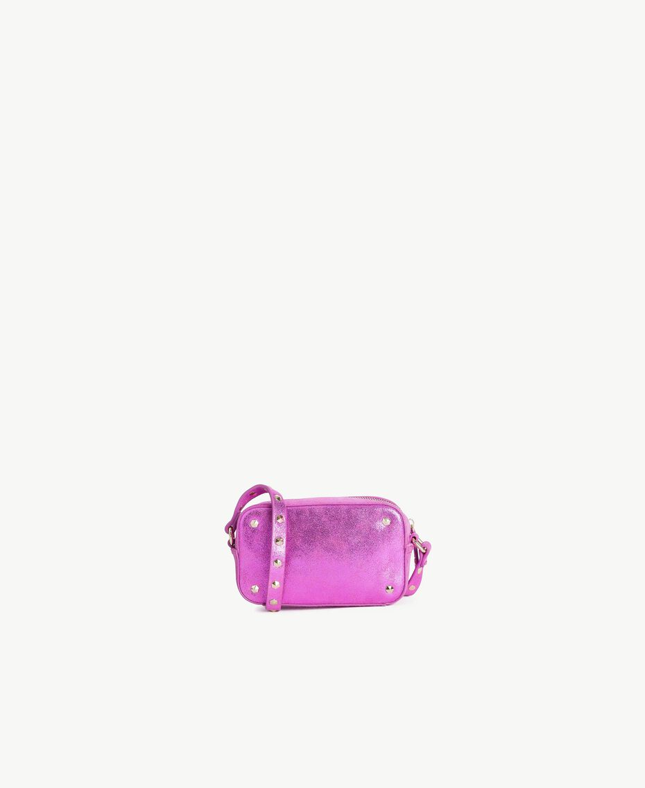 TWINSET Laminated shoulder bag Provocateur Pink Woman OS8TBN-03