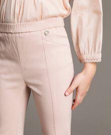 Pantalon skinny en coton Rose En fleur Enfant 191GJ2111-04
