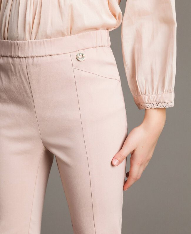 Cotton skinny trousers Blossom Pink Child 191GJ2111-04