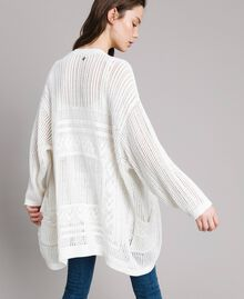 Openwork knitted cardigan Off White Woman 191ST3041-01