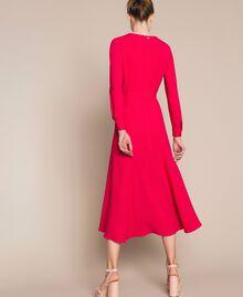 Long dress with slits Black Cherry Woman 201TP2433-03