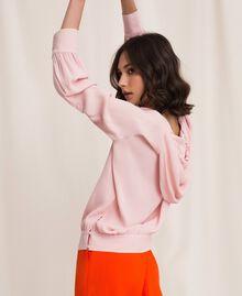 Georgette hoodie Moonlight Beige Woman 201LL2NFF-04