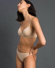 underwired bra (D cup) Pink Skin Woman LCNN5D-02