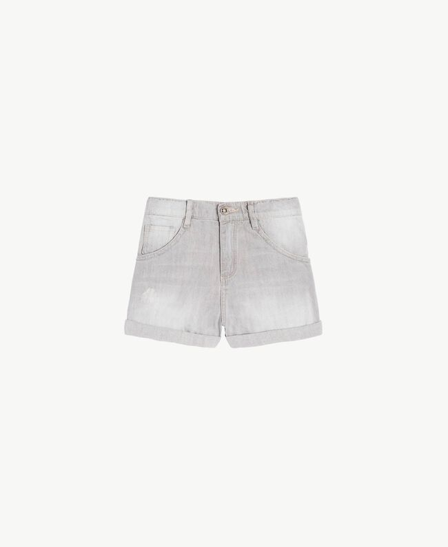 Denim shorts Light Grey Denim Child GS82FN-01