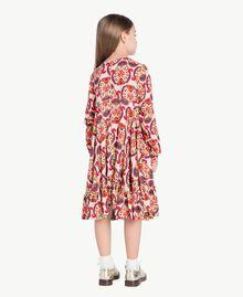 "Kleid mit Print ""Folk Cream""-Print GA7243-03"