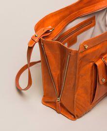 """Кожаная сумка-шоппер Rebel с карманом Красный """"Яшма"""" женщина 999TA7235-06"""