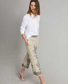 Camicia in popeline Bianco Donna 191TT223D-02