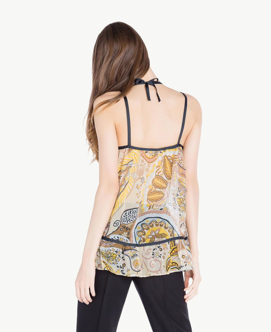 Printed top Paisley Print Woman SS82MA-03