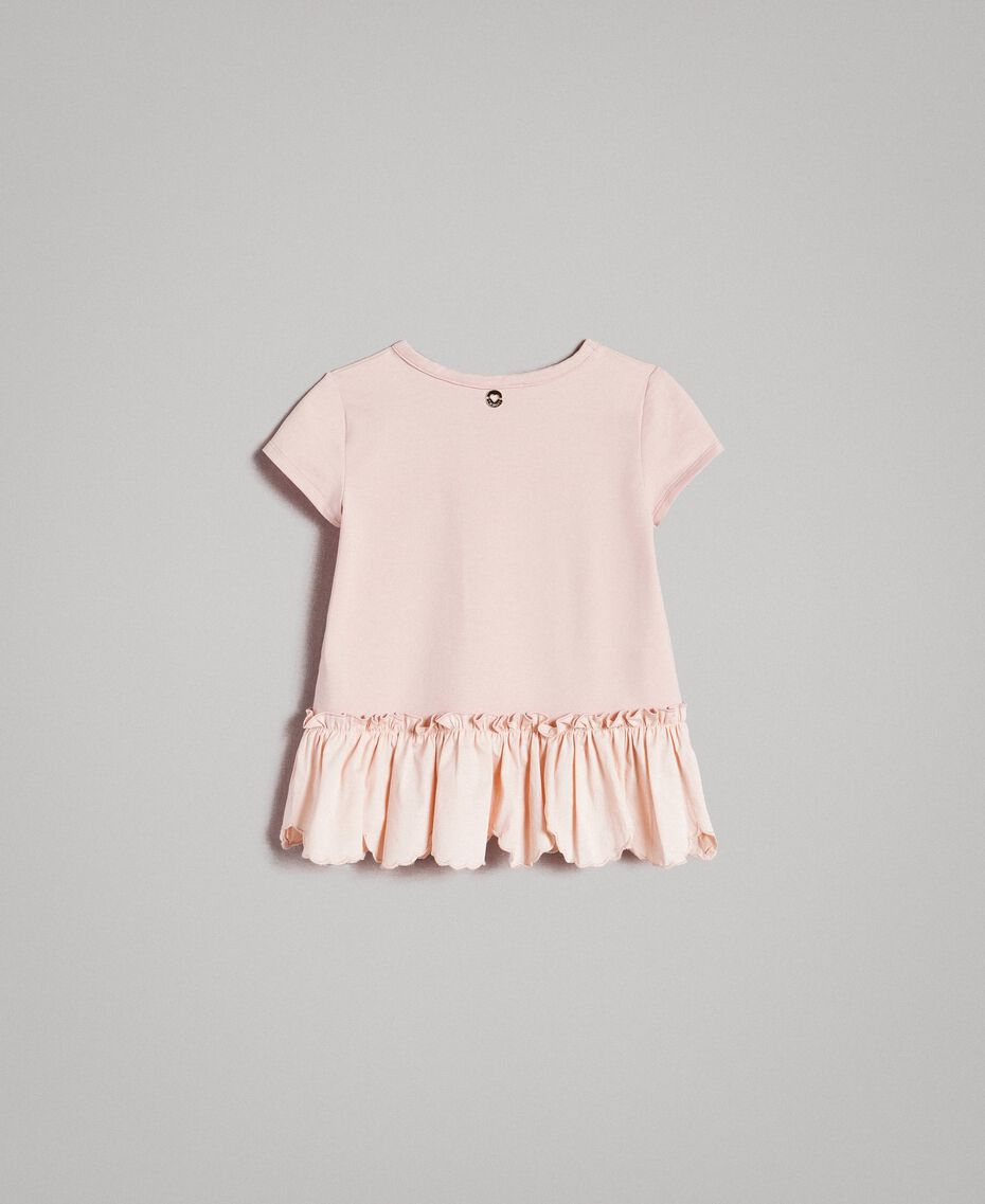 Jersey T-shirt with print Blossom Pink Child 191GB2193-0S