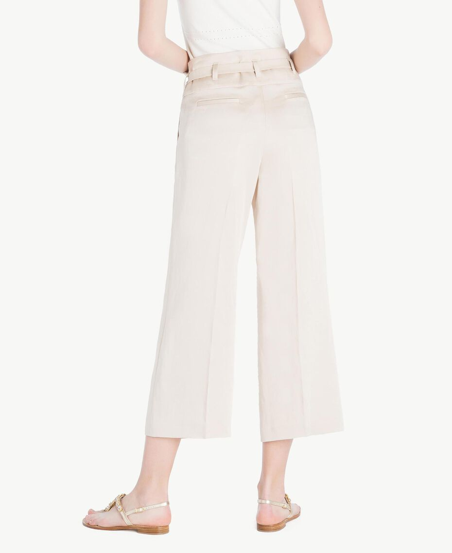 Envers satin trousers Dune Woman TS823P-03