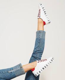 Sneakers con logotipo Blanco Mujer 202LIPZCC-0T