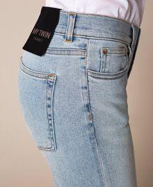 Jeans tomboy con rotture Denim Blue Donna 201MP2274-04