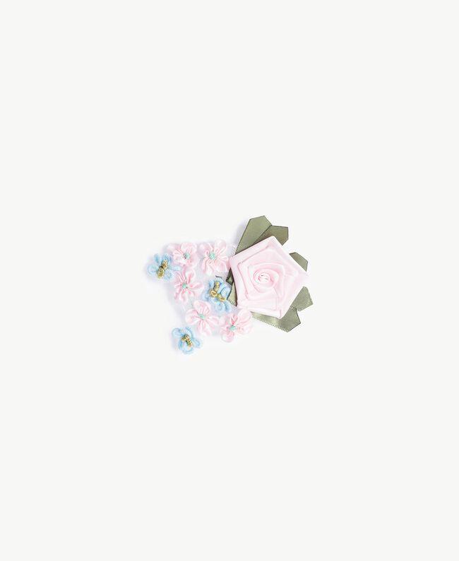 Silk blouse Hydrangea Pink Woman PS8221-04