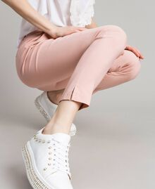 """Pantalon cigarette Rose """"Pink Bouquet"""" Femme 191LB22GG-04"""