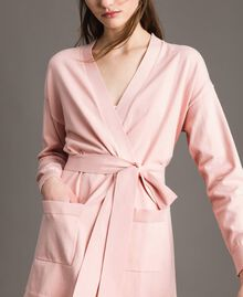 Maxi cardigan with belt Pink Pearl Woman 191TP3037-04