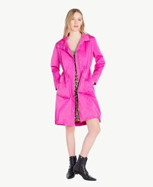 Technical fabric parka Fuxia Woman PS82J4-01