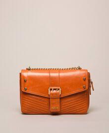 Кожаная сумка через плечо Rebel средних размеров Серый Титан женщина 999TA7233-03