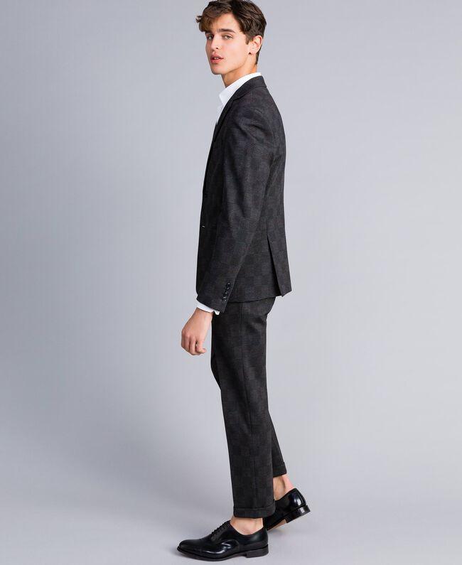 Uomo E Completo Pantalone Milano Stampato Giacca Grigio Twinset qH4vwz4n