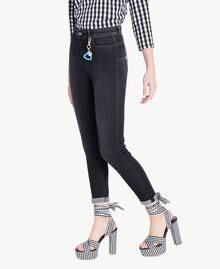 Skinny jeans Black Denim Woman JS82X1-02