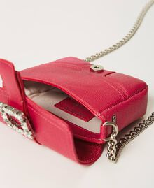 Small Rebel shoulder bag with jewel buckle Black Cherry Woman 202TB7140-06