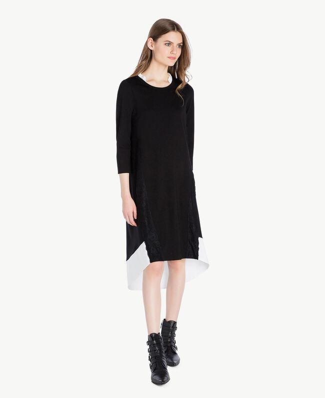 Lace dress Black Woman PS828R-01