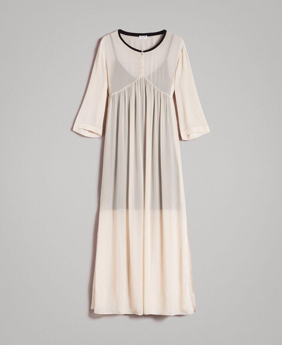 Georgette long dress Ecrù Woman 191ST2205-0S