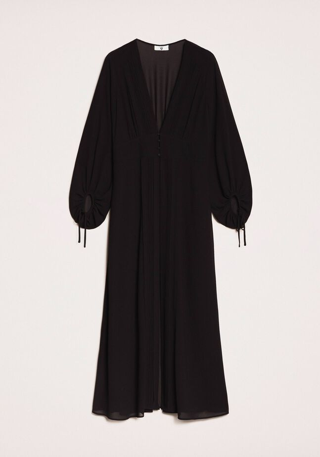Long georgette kaftan