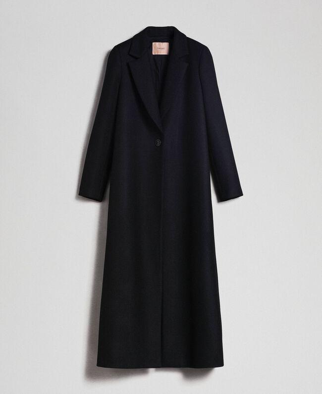 cappotto donna nero lungo