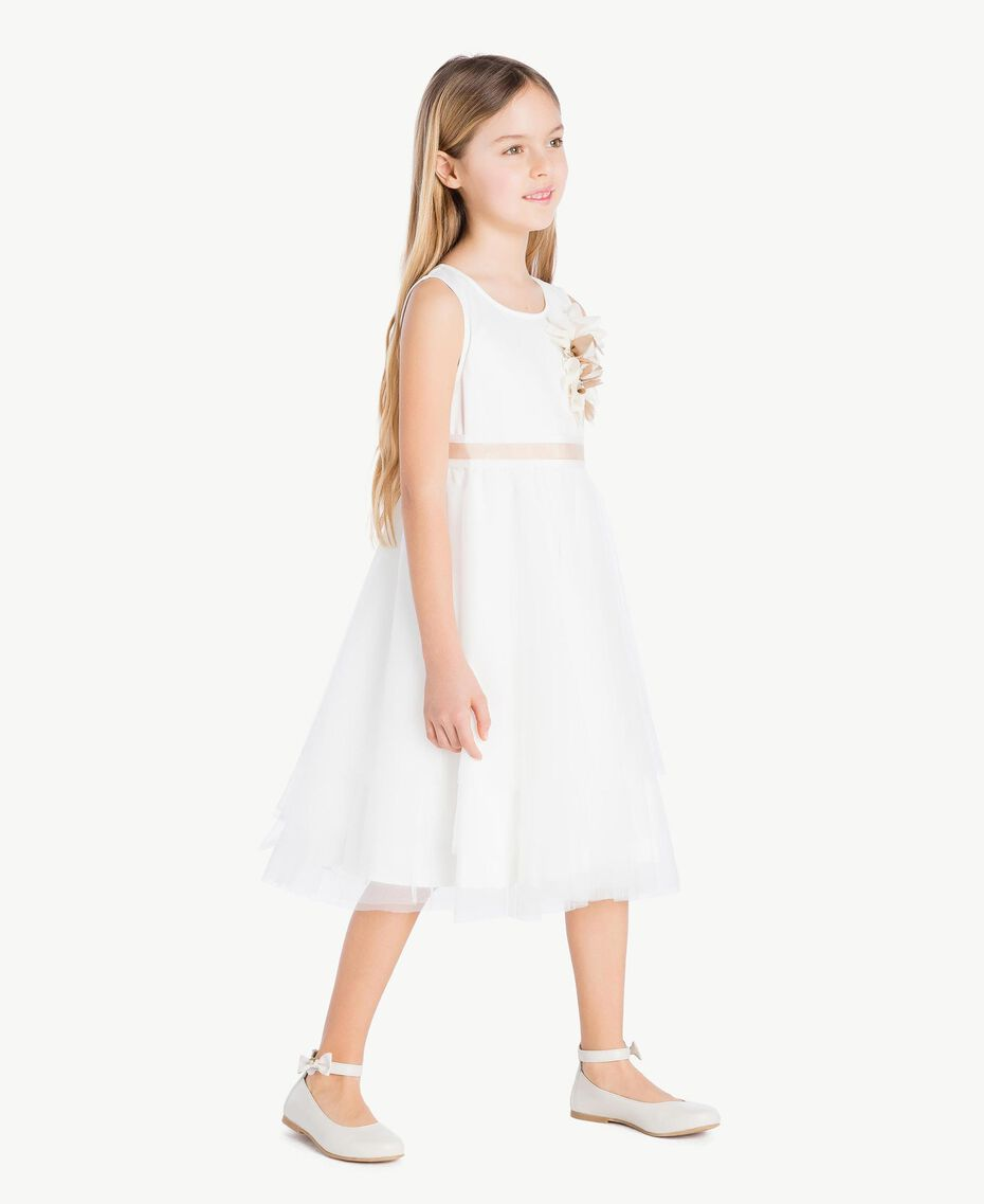 Robe tulle Chantilly Enfant GS8LDA-03