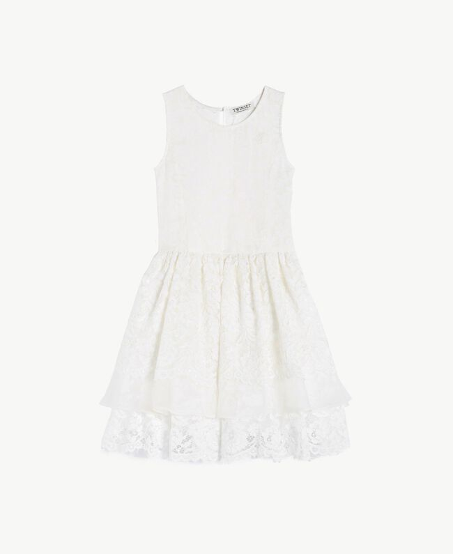 Robe soie Chantilly Enfant GS8LD1-01