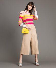 Petit Bea Bag à bandoulière en cuir Jaune Papillon Femme 191TA7142-0T