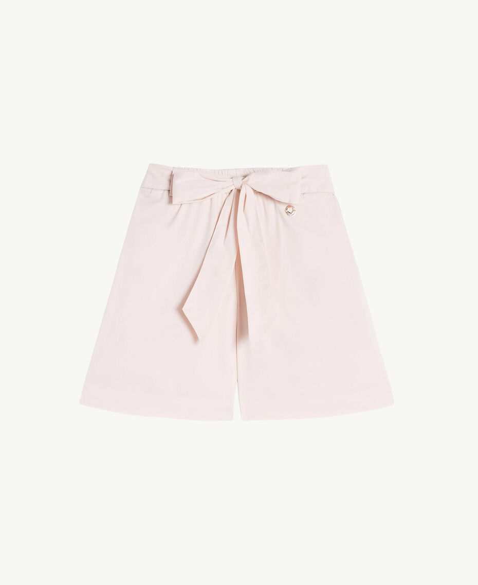 Poplin trouser skirt Bud Pink Child FS82QN-01