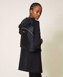Sac à dos Twinset Bag en satin Noir Femme 202TB7201-0S