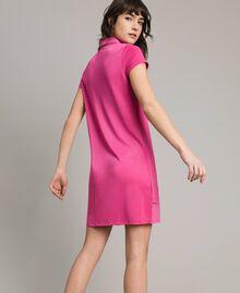 Mini jersey shirt dress Rose Blossom Woman 191LL23NN-03