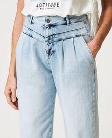 High waist jeans Light Denim Woman 211MT2580-05