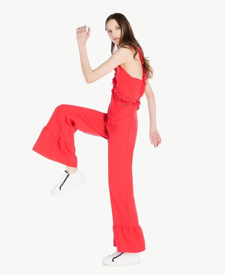 Cady jumpsuit Ginger Red Woman SS82AD-02