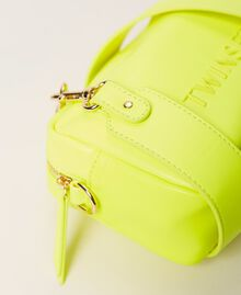 "Padded shoulder bag ""Led"" Yellow Woman 211TD8050-04"