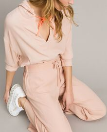 Crêpe palazzo trousers Delicate Pink Woman 191LL23EE-01