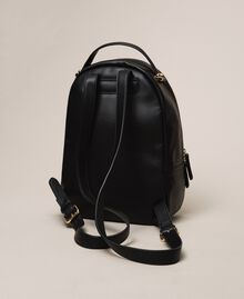 Рюкзак из искусственной кожи с карманом Черный женщина 201TA7163-03