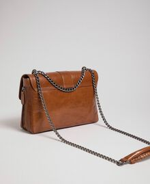 Grand sac à bandoulière Rebel en cuir Cuir Femme 192TO823E-04