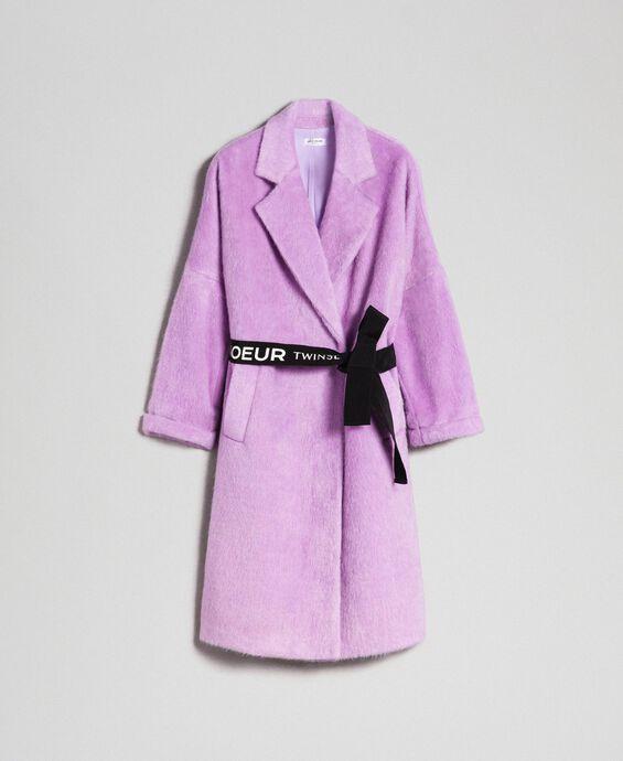 modificare un cappotto con perline e nastri colorati