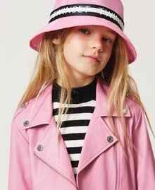 """Logo hat """"Rose Bloom"""" Pink Child 211GJ4924-0S"""