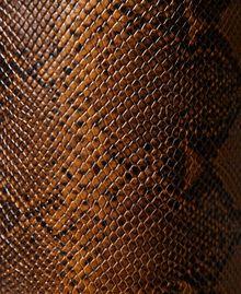 Bottes montantes en cuir animalier Imprimé Whips Marron Femme 212TCP180-05