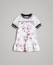 Floral fleece dress Ramage Butterfly Print Child 191GB2130-01