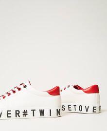 Sneakers con logotipo Blanco Mujer 202LIPZCC-03