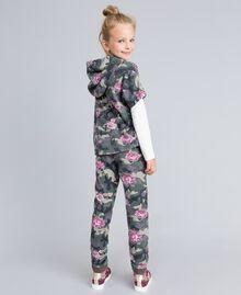 Sweat en coton stretch imprimé Imprimé Camouflage / Paillettes Enfant GA82N1-03