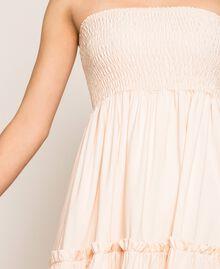 "Skirt-dress with flounces ""Waterfall"" Blue Woman 201LB2BEE-06"