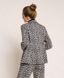 Animal print blazer Lily Animal Print / Black Woman 201MP2451-04