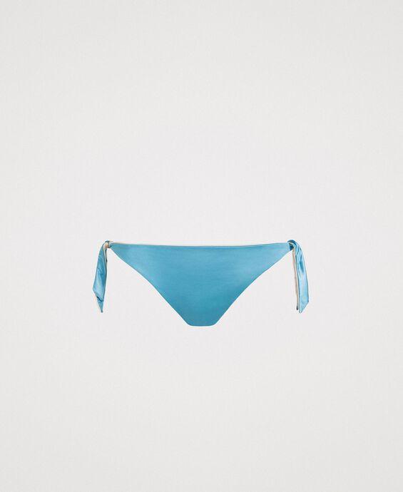 Bas de bikini tanga réversible